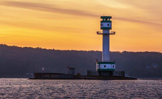 Falcke Stone, Kiel, Kieler Firth, Friedrichsort