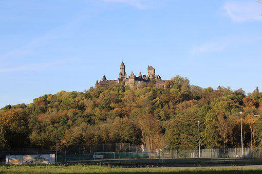 Braunfels, Castle, Hesse, Fortress, Germany