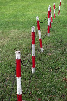 Posts, Will, Fencing, Grass, Lawn