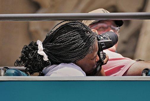 Photographer, Camera, Lens, Foto, Hobby, Equipment