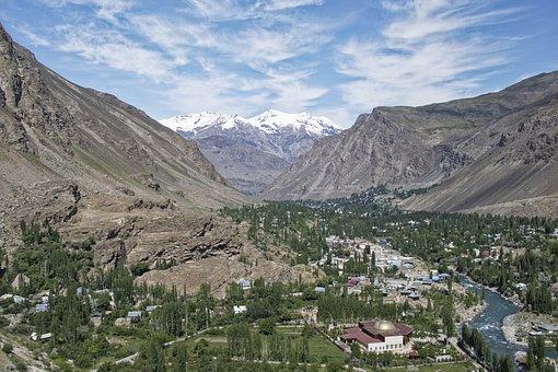 Tajikistan, Khorugh, Province Of Mountain-badakhshan