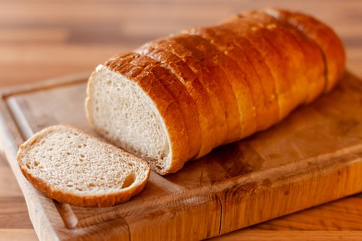 Bread, Food, Isolated, Croissant, Loaf, White, Baked