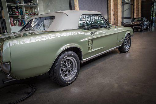Ford, Mustang, Auto, Oldtimer, Automotive, Vehicle