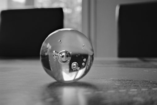 Ball, Glass, Round, Sphere, Smiley, Reflection, Bubbles