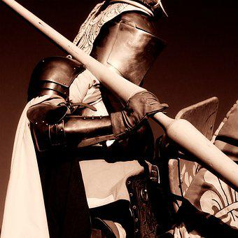 Knight, Horse, Jousting, Armor, Warrior, Medieval