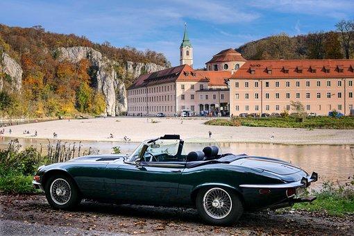 Monastery, Weltenburg, Danube Gorge, Niederbayern