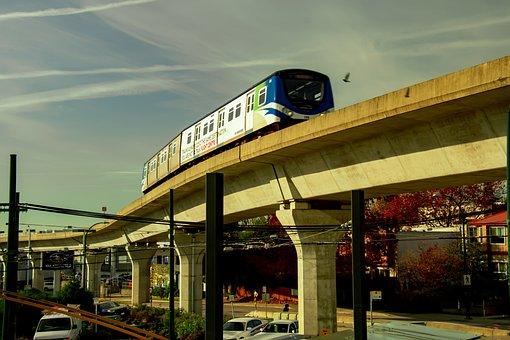 Light Rail Transit, Mrt, Skytrain, Passenger Train
