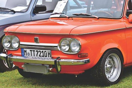 Nsu Prinz Tt, Oldtimer, Sports Car, Classic, Racing Car