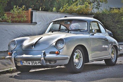 Porsche, Oldtimer, 356 C, Classic, Sports Car, Vehicle