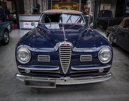 Alfa Romeo, Oldtimer, Cabriolet, Auto, Classic, Vehicle