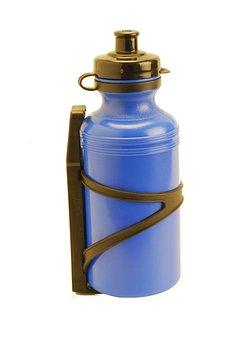 Canteen, Bottle, Sport, Blue, Plastic