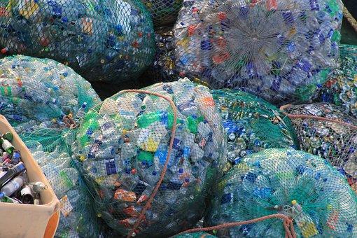 Plastic, Bottles, Garbage, Network, Colorful