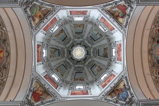 Church, Building, Architecture, Dome