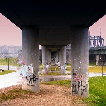 Columnar, Bridge, Architecture, Building, Pillar
