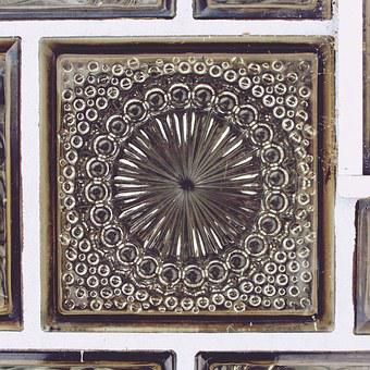 Tile, Glass, Ornament, Window, Building, Decorated