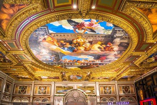 Ceiling Painting, Ceiling, Painting, Las Vegas