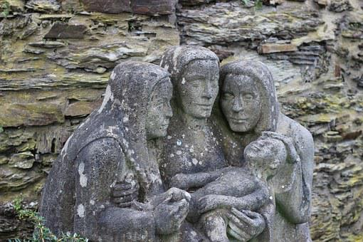 Mother, Child, Motherly Love, Norns, Aunts