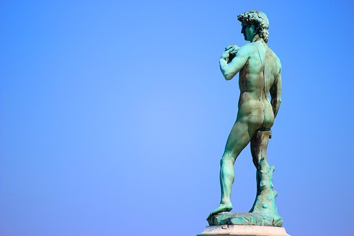 Florence, Tuscany, Italy, David, Piazzale Michelangelo