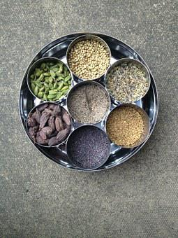 Spices, Indian, Food, Pepper, Spicy, Ingredient, Curry