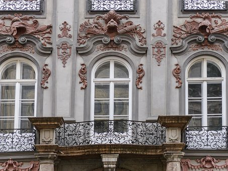 Facade, Architecture, Windows, Front, Germany, Building