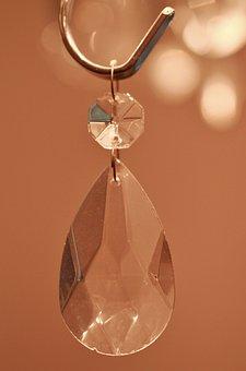 Crystal, Light, Transparent, Glass, Glassy, Shimmer