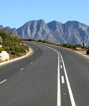 Africa, Asphalt, Bend, Colorful, Curve, Freeway, Grass