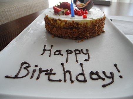 Happy Birthday, Happy Birthday To You, Birthday, Cake