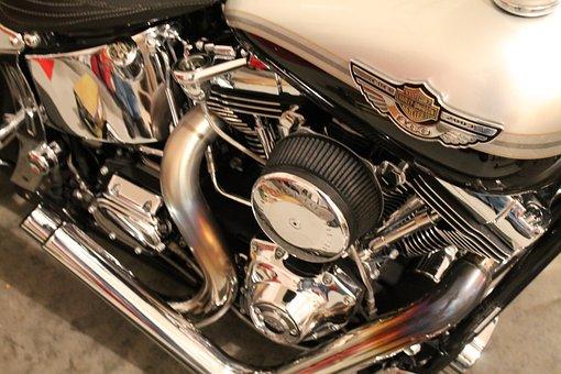 Harley, Harley Davidson, Motorcycle, Motorbike, Chopper
