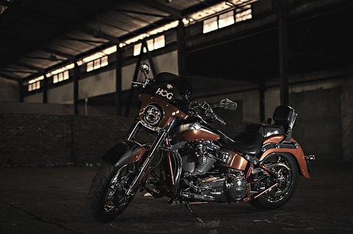 Harley Davidson, Motorbike, Motor, Lowkey, Motorcycle