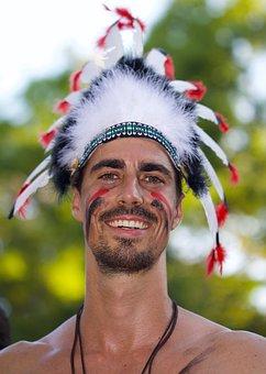 Human, Man, Portrait, Street Parade, Festival