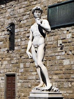 Italy, Florence, David, Michelangelo, Statue, Marble