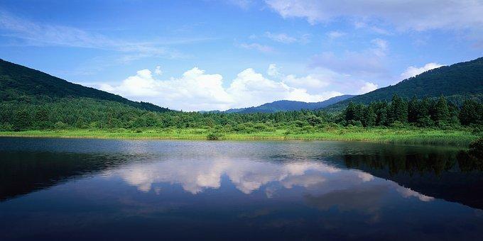 Landscape, Lake, Bay, Water, Nature, Waterfront