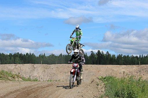 Motocross, Motorcycle, Offroad, Motorbike, Race