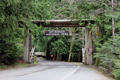 Mount Rainier, Mountain, Washington, National Park