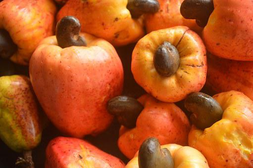 Fruits, Cashew Apple, Food, Organic, Tropical, Natural