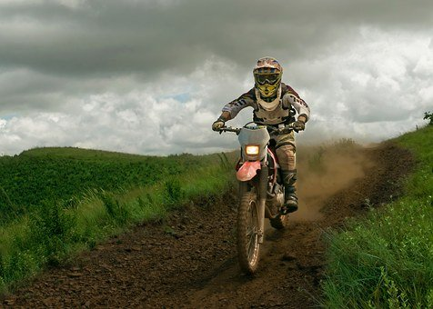 Bike, Motocross, Speed, Outdoors, Track, Motorcycle