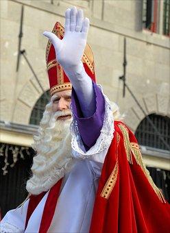 Festivity, Parade, St, Nick, Nicholas, Holland