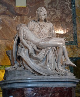 Piet, Michelangelo, The Vatican, The Basilica