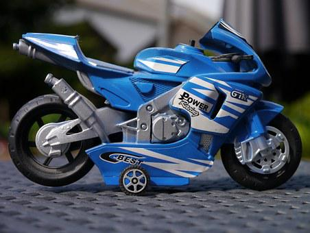 Motorcycle, Bike, Motorbike, Toy, Child, Kid, Play