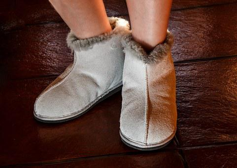 Sheepskin Slippers, Slippers, Footwear, Shoes, Feet