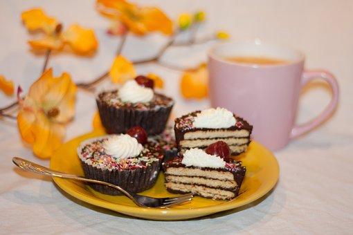 Cake, Tart, Pastries, Small, Sweet, Dessert, Bake