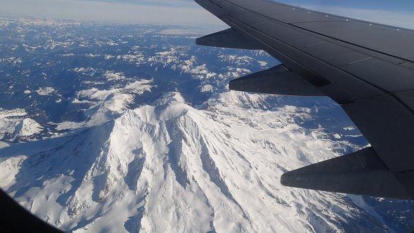 Rainier, Mt, Mount, Mountain, Volcano, Snow, Snowclad