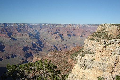 Grand, Canyon, South, Rim, Usa, Landscape