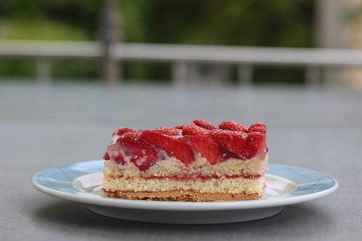 Strawberry Cake, Strawberry Pie, Strawberry Sections