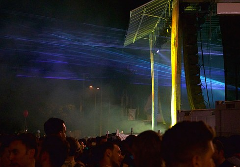 Human, Street Parade, Disco, Music, Laser