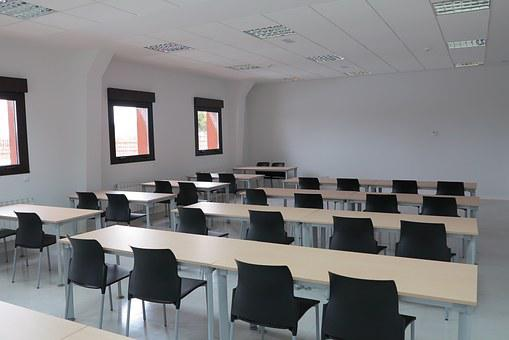 Classroom, Training, Tables, Chairs, Teaching, Office