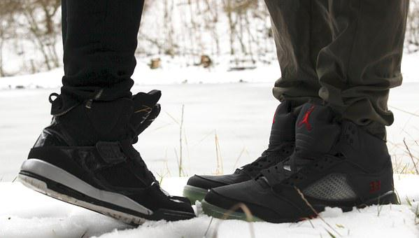 Shoes, Feet, Pair, Kiss, Love, Together, Winter
