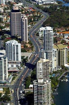 Gold Coast City, Surfer's Paradise, Skyscrapers, Towers