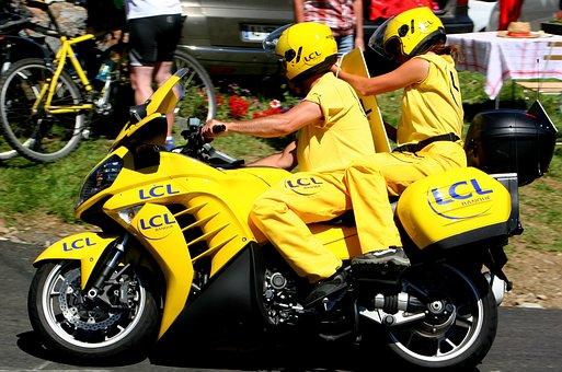 Motorbike, Yellow, Motorcycle, Bike, Transport, Motor