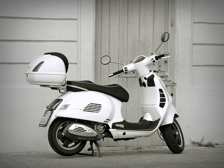 Vespa, Scooter, Classic, Vinaigrette, Moped, Motorcycle